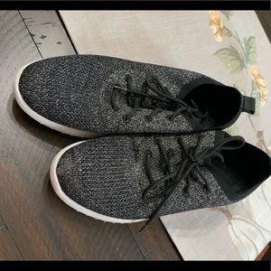 Black glittery Aldo sneakers